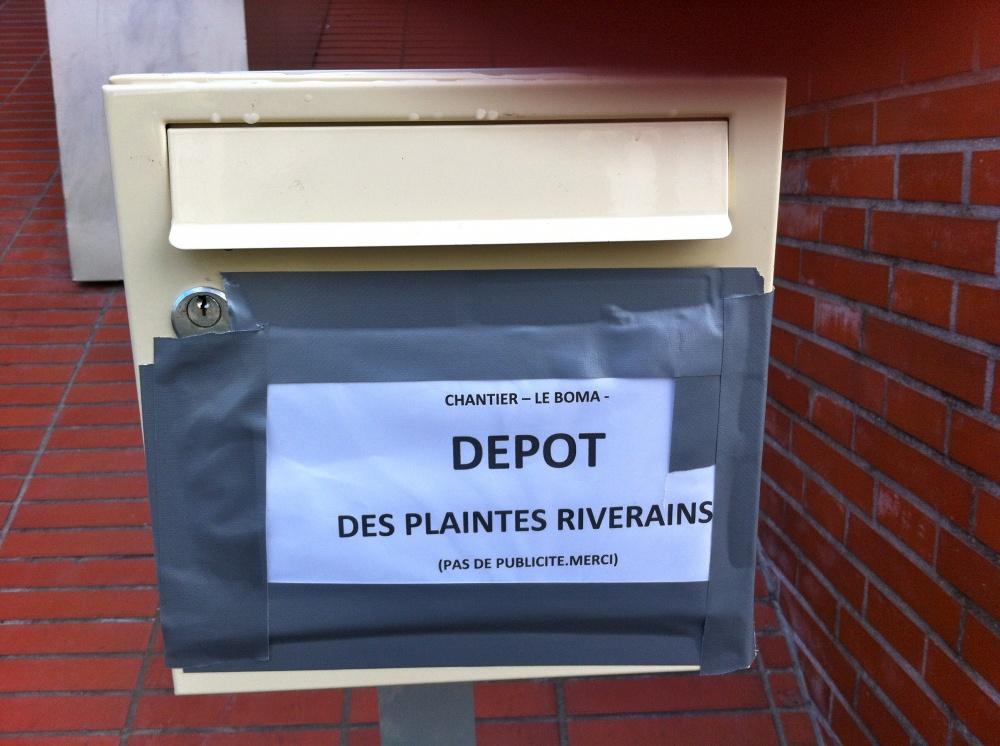 D p t des plaintes chers voisins for Depot reglement interieur